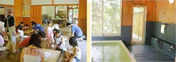 ⑤大浴場やうどん・そば打ち教室も!山逢いの里キャンプ場1-side