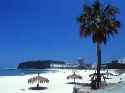 和歌山デートスポット②真っ白い砂浜!白良浜海水浴場