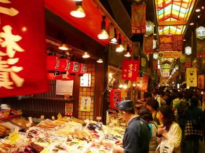 京都一人旅①錦市場~京都の台所で食べ歩き!1