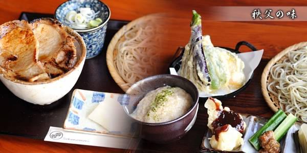 埼玉県秩父神社⑩参拝後はお蕎麦でランチ