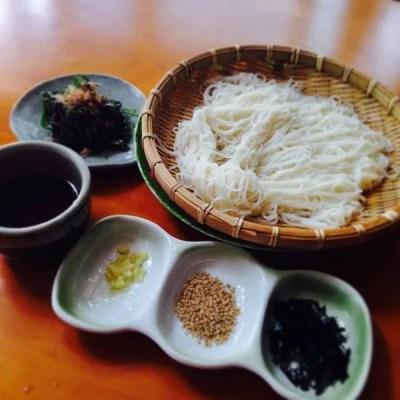 奈良県名物&グルメ④6世紀!?美味しい伝統・三輪そうめん
