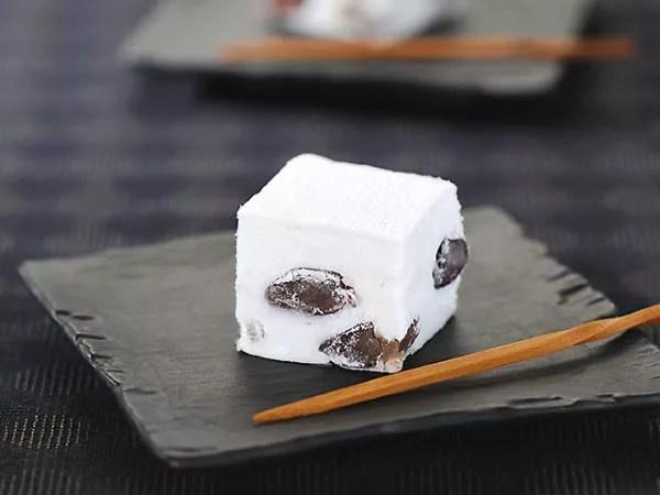 富山県のお土産⑩マシュマロみたいなふんわり和菓子『鹿の子餅』