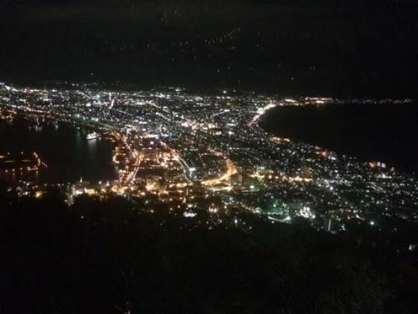 函館デートスポットランキング9.綺麗!ロマンチックの極み!「 表夜景と裏夜景」