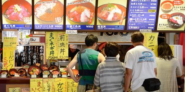 大洗海鮮丼ランキング⑧水族館で海鮮丼を!まぐろどんどん