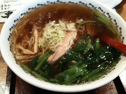 青森県名物グルメ④澄んだスープ派はここへ集まるべし「八戸ラーメン」