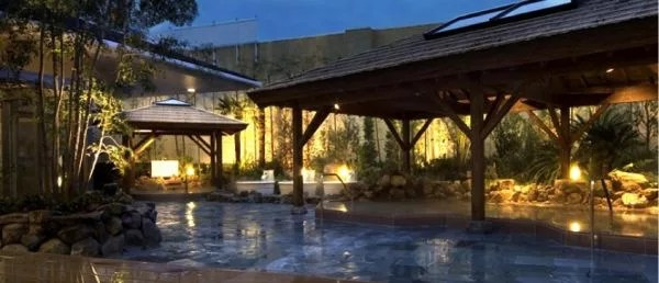 大阪銭湯ランキング⑥アジアンリゾート!天然温泉 なにわの湯