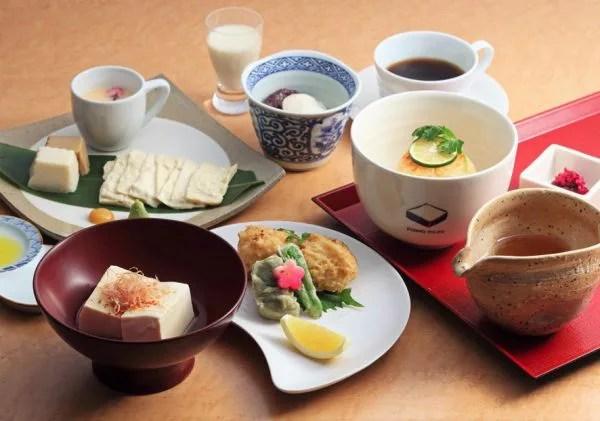 京都府湯豆腐ランキング⑤気軽に味わうランチ&スイーツ「京とうふ藤野本店」