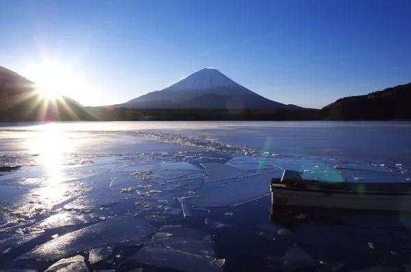 富士山絶景撮影ポイント②「新富嶽百景」にも選ばれた美麗スポット!精進湖展望台