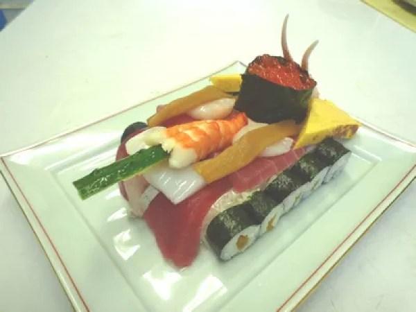 大洗寿司ランキング①ガルパンのファン必見メニューあり!栗崎屋