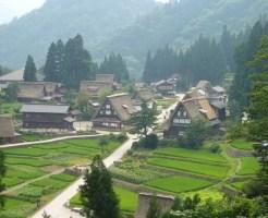 富山県観光スポットランキング②世界に誇る合掌造の集落!五箇山