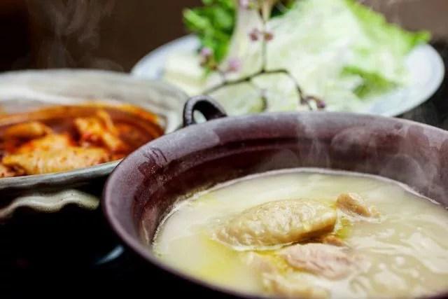 大阪鍋ランキング①鶏を味わう鍋、健美宴