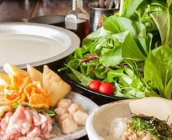 奈良県鍋料理ランキング①大和野菜をこれでもかと使った草鍋「豊樂(とよのあかり)」