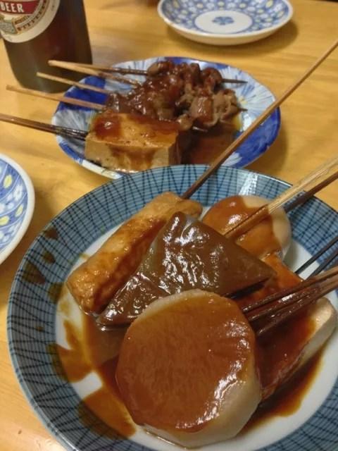 名古屋鍋ランキング③大須の裏通りにある、昔ながらの大衆食堂「田子作のみそおでん」
