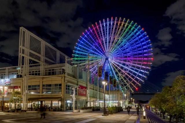 大阪穴場デートスポットランキング⑧世界最大級の観覧車!天保山マーケットプレース・海遊館