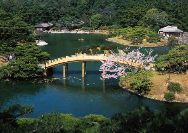 香川県観光スポットランキング③国の特別名勝!栗林公園