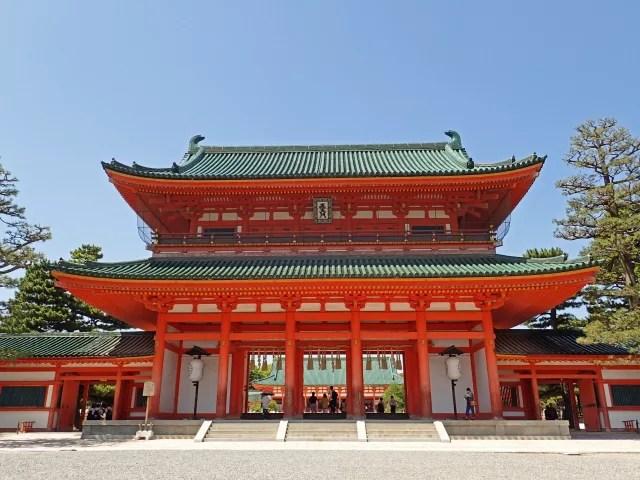 左京区観光スポットランキング①京都民の初詣のメッカ【平安神宮】