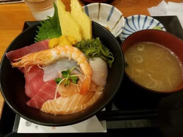 仙台海鮮丼ランキング②壱弐参横丁へふらり、覚楽(かくらく)