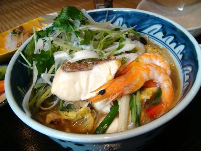 熊本県太平燕ランキング⑦和風にアレンジした「鯛ぴ燕」が食べられる!光琳(こうりん)