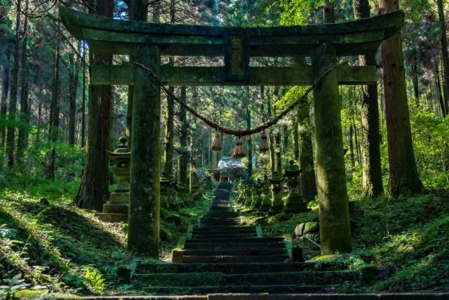 熊本県パワースポットランキング④ここは異次元への入り口か「上色見熊野座神社」