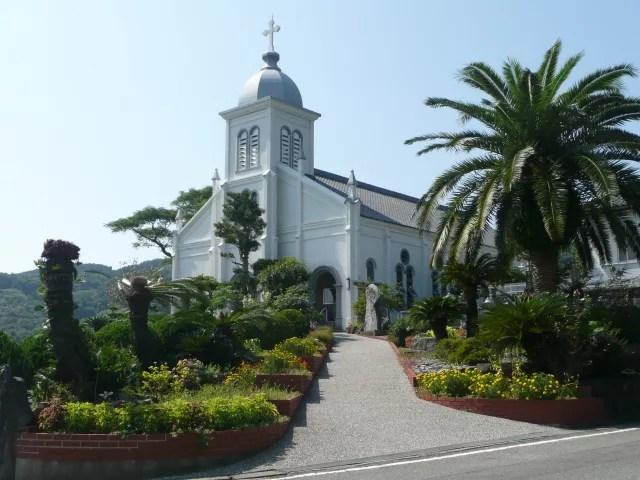天草観光スポットランキング⑩天草の隠れキリシタンの歴史が息づく!大江教会・津崎教会