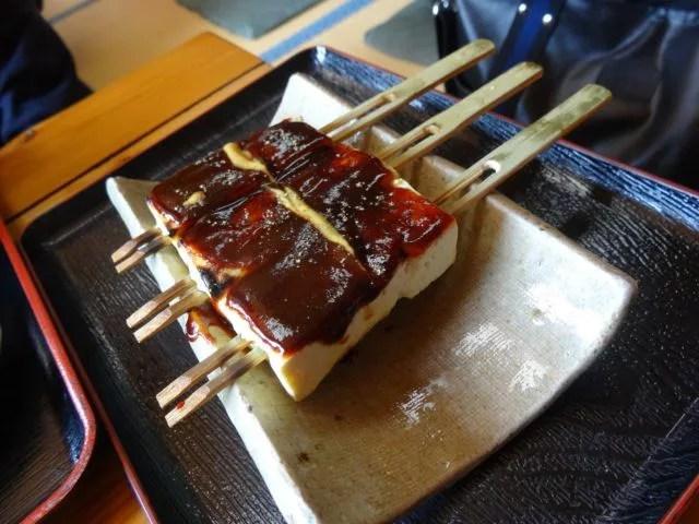 岡崎名物グルメ⑦八丁味噌料理の老舗の本格田楽「いちかわ」