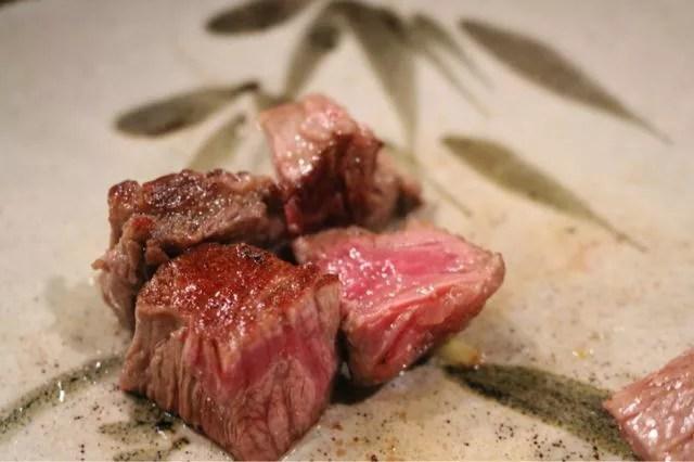 水戸ステーキランキング①ステーキと魚介を鉄板焼きで!ドルフ