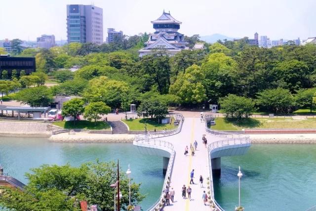 福岡県小倉観光スポットランキング①小倉のシンボル的存在「小倉城」