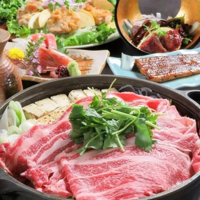 岩手県盛岡の鍋料理ランキング⑥老舗の料亭の前沢牛のすき焼き「割烹酒場 Taga(多賀)」