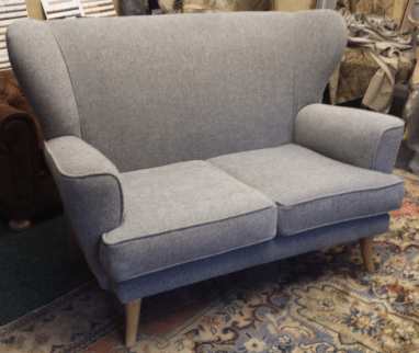 After two seater wingback sofa
