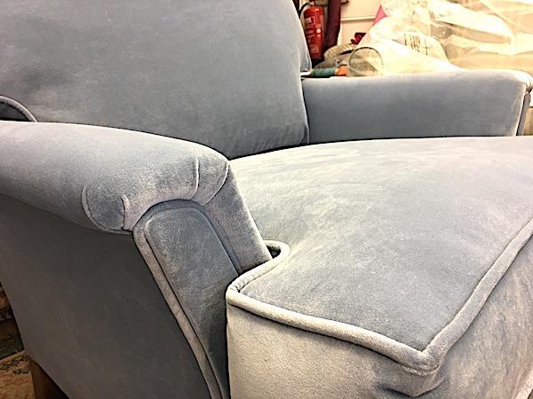 Chair in Italian Velvet