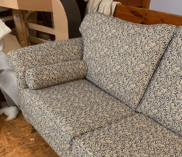Duresta style sofas - part of a pair