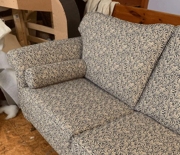 Duresta style sofas - part of a pair