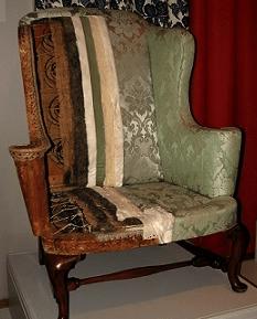 Half upholstered