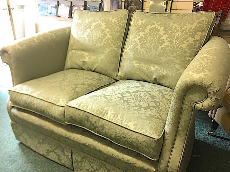 A hand made sofa restored