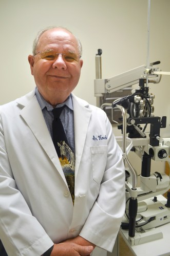 Dr. James Kondor, a Hilton Head-based optometrist, helped secure more than $18,000 in funding and is volunteering his time to treat patients at BJVIM's new eye clinic in Ridgeland.