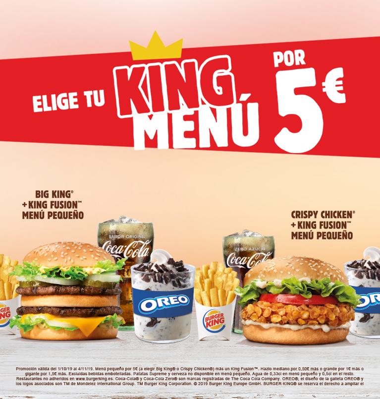 Burger King 5 Euros Novocom Top