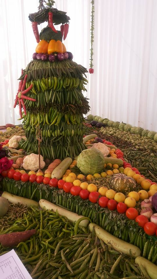 vegetable_Shivling_world_records_brahmakumari_India