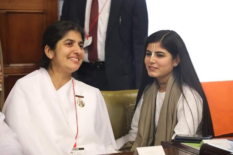 HAPPINESS AMBASSADOR AWARD to Sis  B K  SHIVANI | Brahma Kumaris
