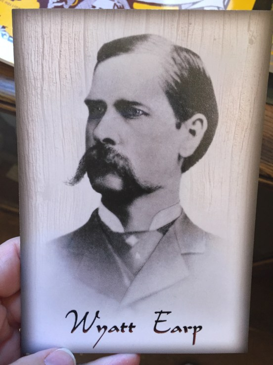 a pic of the real Wyatt Earp, our friends Great, Great, Great Nephew