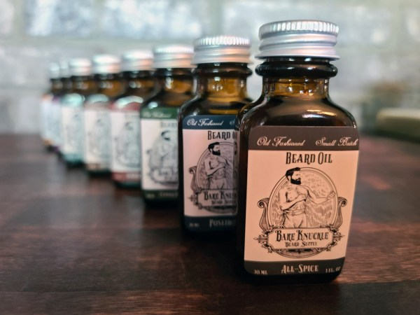 Bare Knuckle Beard Oil Line - All-Spice