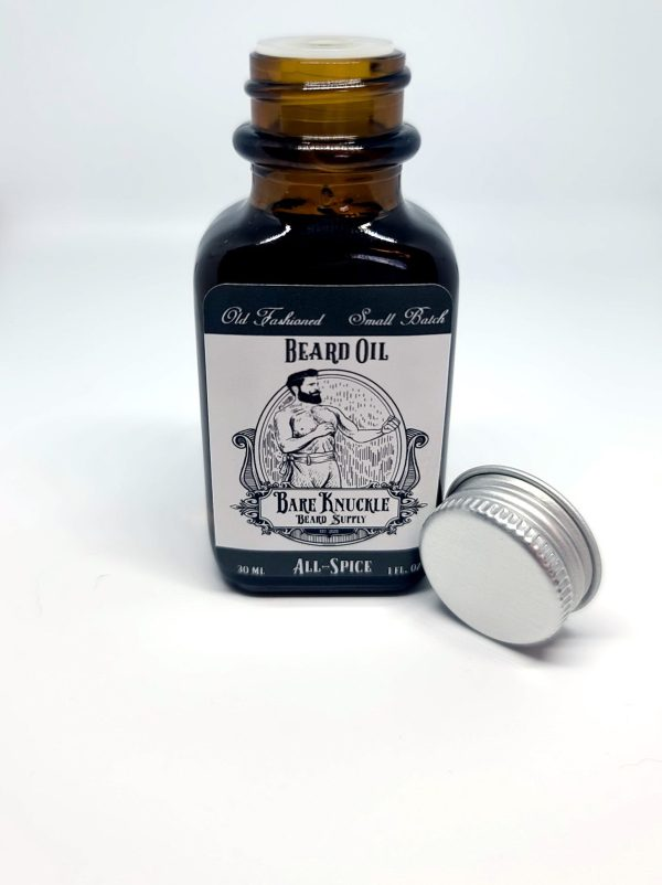 Beard Oil All-Spice - Cap Off
