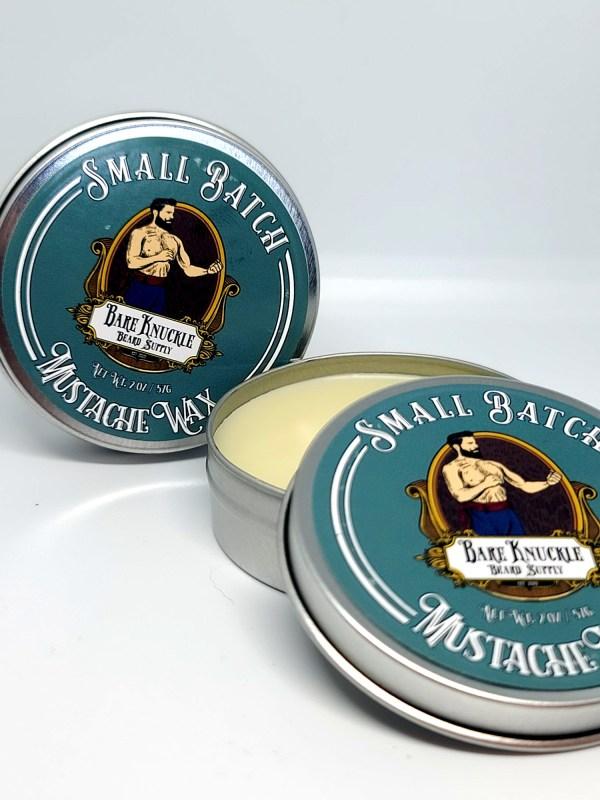 Small Batch Mustache Wax - Dual View