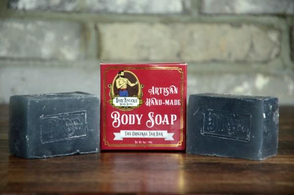 The Original Tar Bar Artisan Body Soap 2 Bars with Box