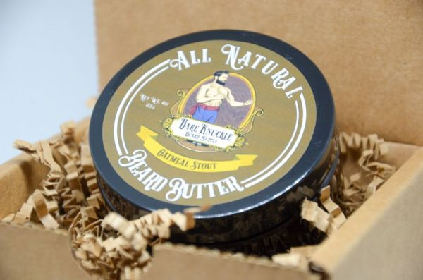 All Natural Beard Butter in Box - Oatmeal Stout