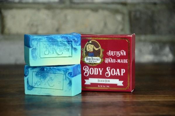 Beach Bum Artisan Body Soap with Box