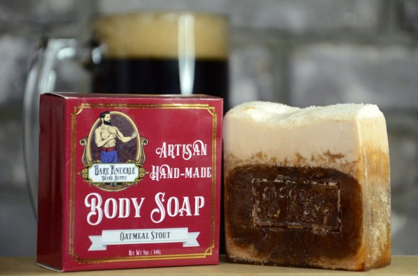 Oatmeal Stout Artisan Body Soap with Box