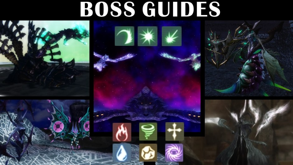 boss weaknesses drops tactics other information