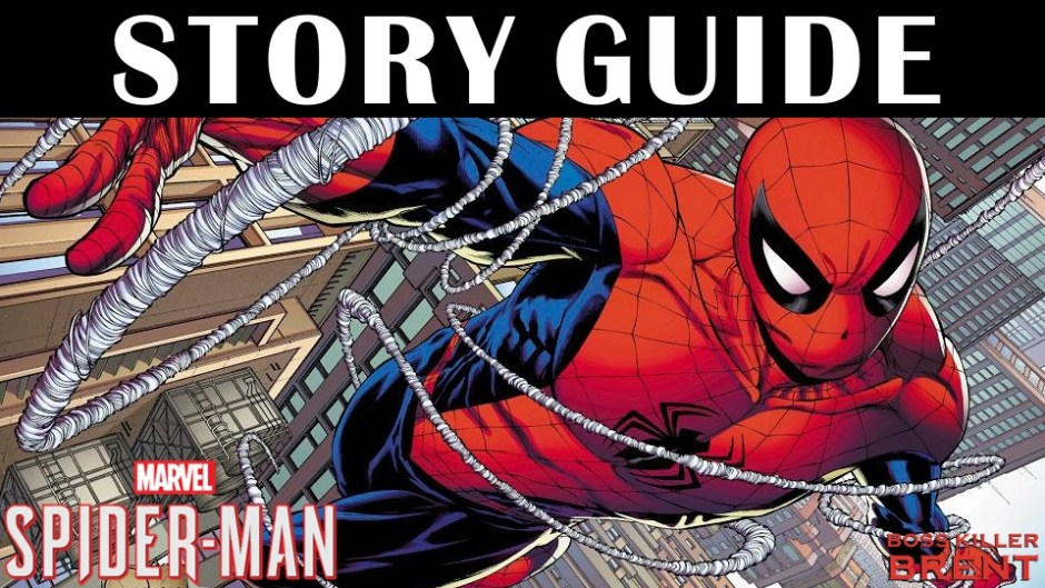 spiderman story mode guide bk brent s game guides