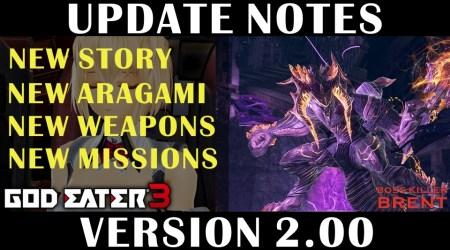 [GE3] Version Update 2.00