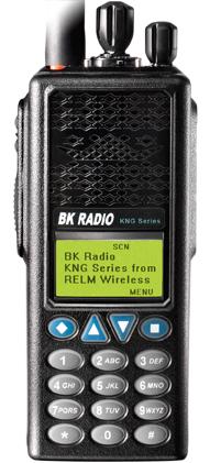 BK Radio KNG P150
